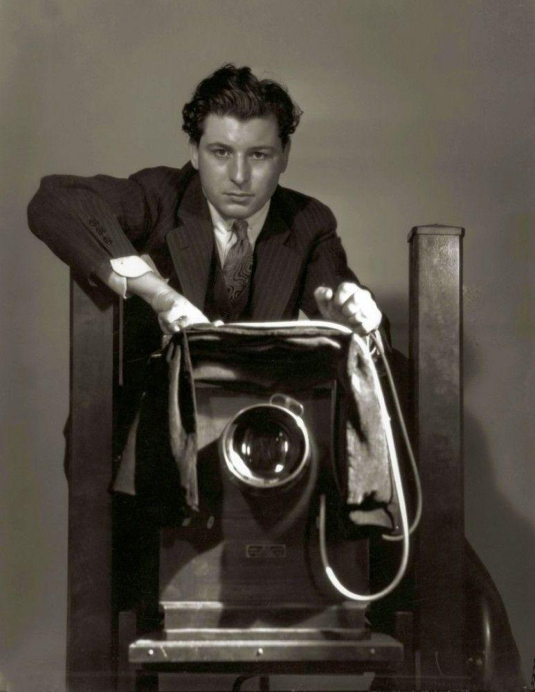 george hurrell self-portrait