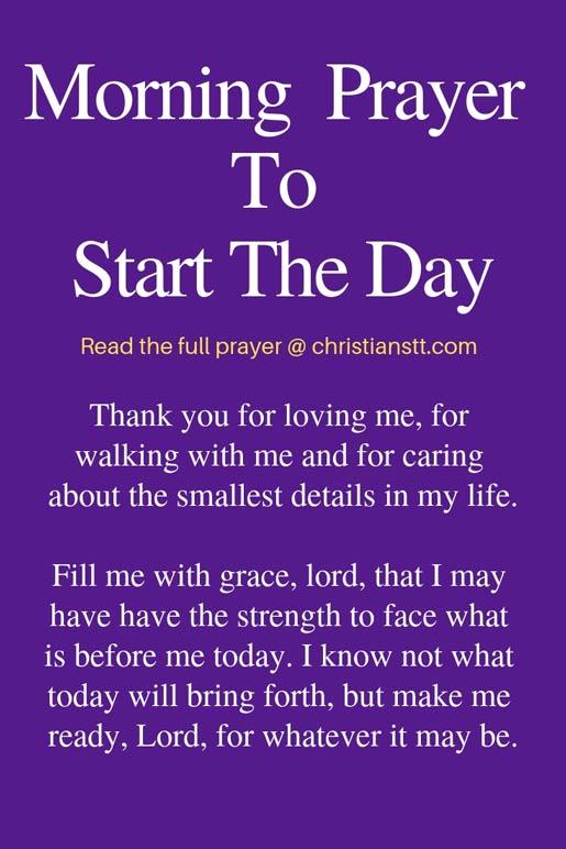 Uplifting Morning Prayers to Start the Day | Morning
