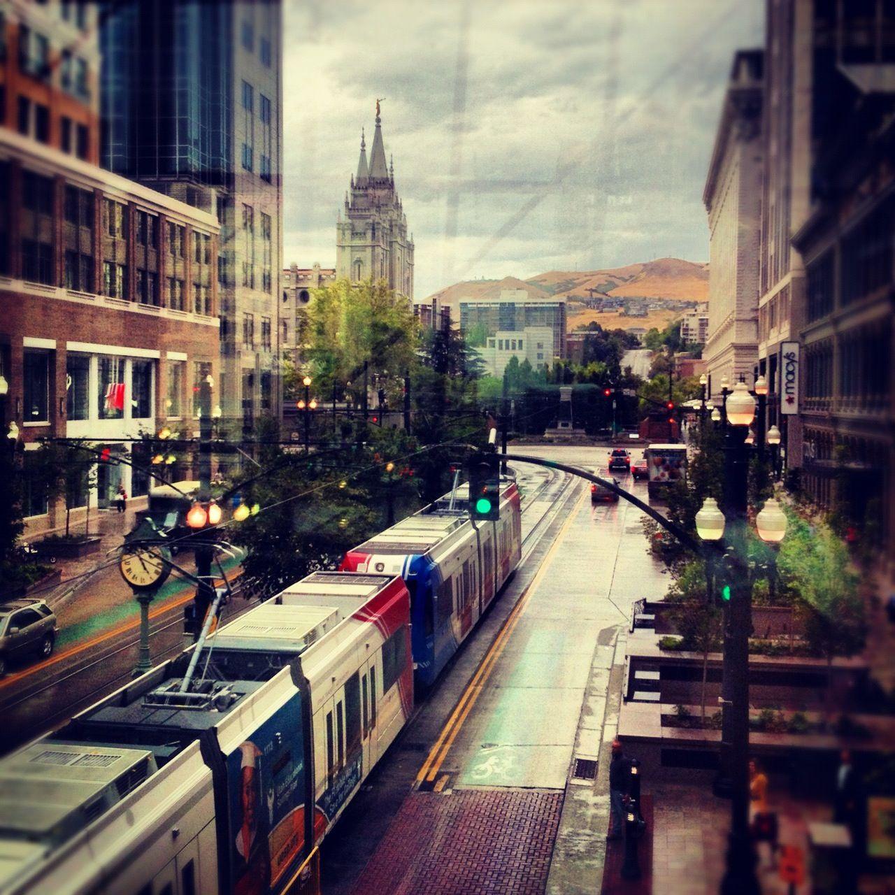 Downtown Salt Lake City Ut: Downtown Salt Lake City By Amanda Erbstoesser