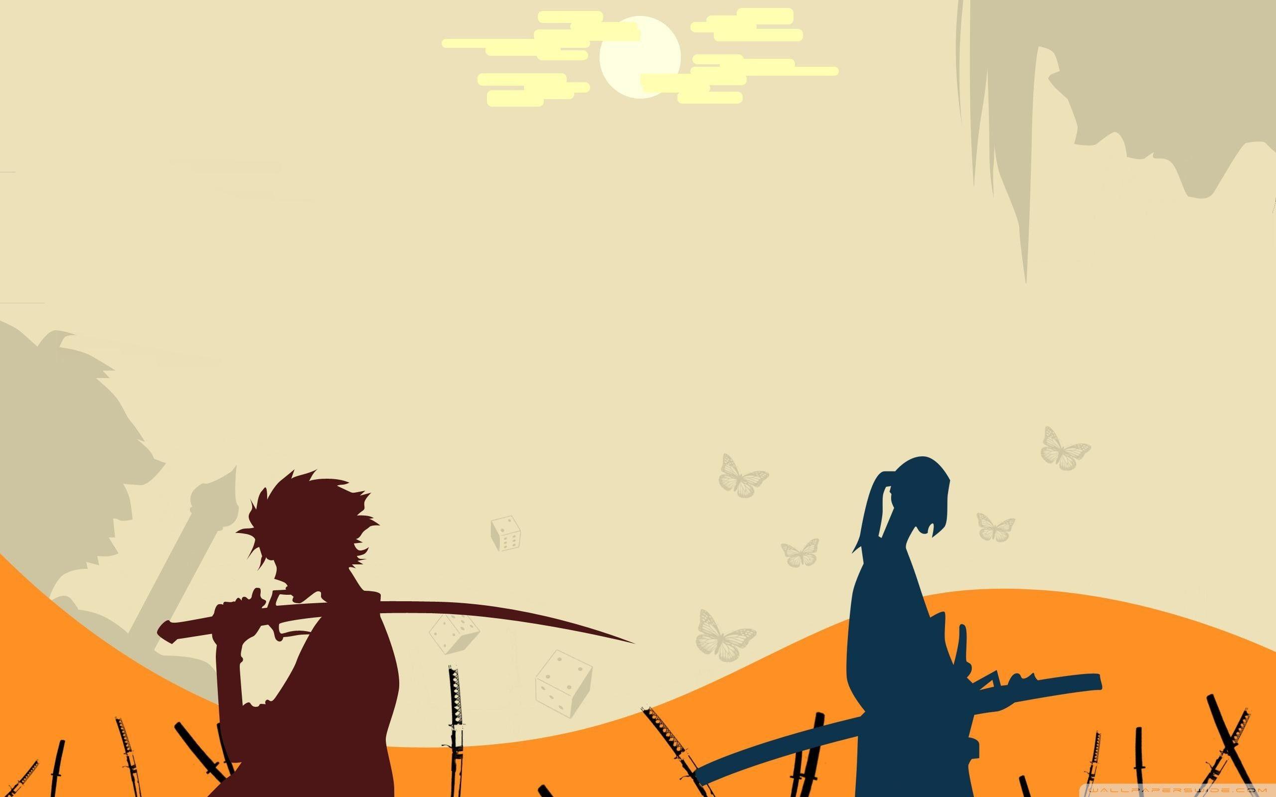 Samurai Champloo Wallpapers 54 Images Samurai Champloo Anime Wallpaper Samurai Anime