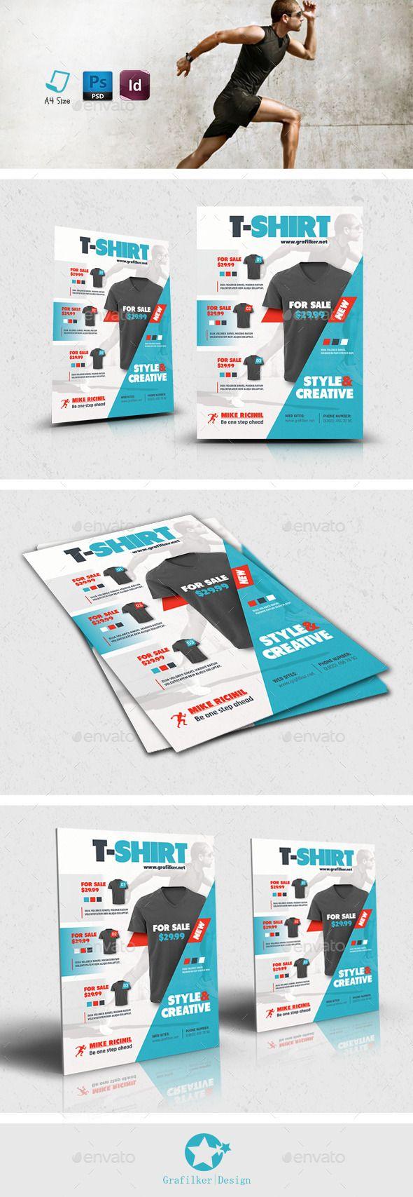 T Shirt Design Contest Maketing Flyers Inksoft Contest Design Flyer Sale Flyer