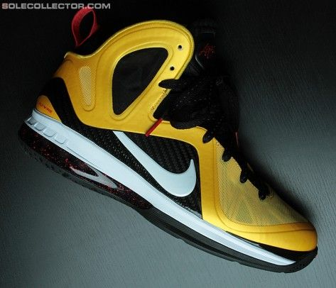 detailed look 72450 2127c Nike LeBron 9 Elite – Varsity Maize – Detailed Images