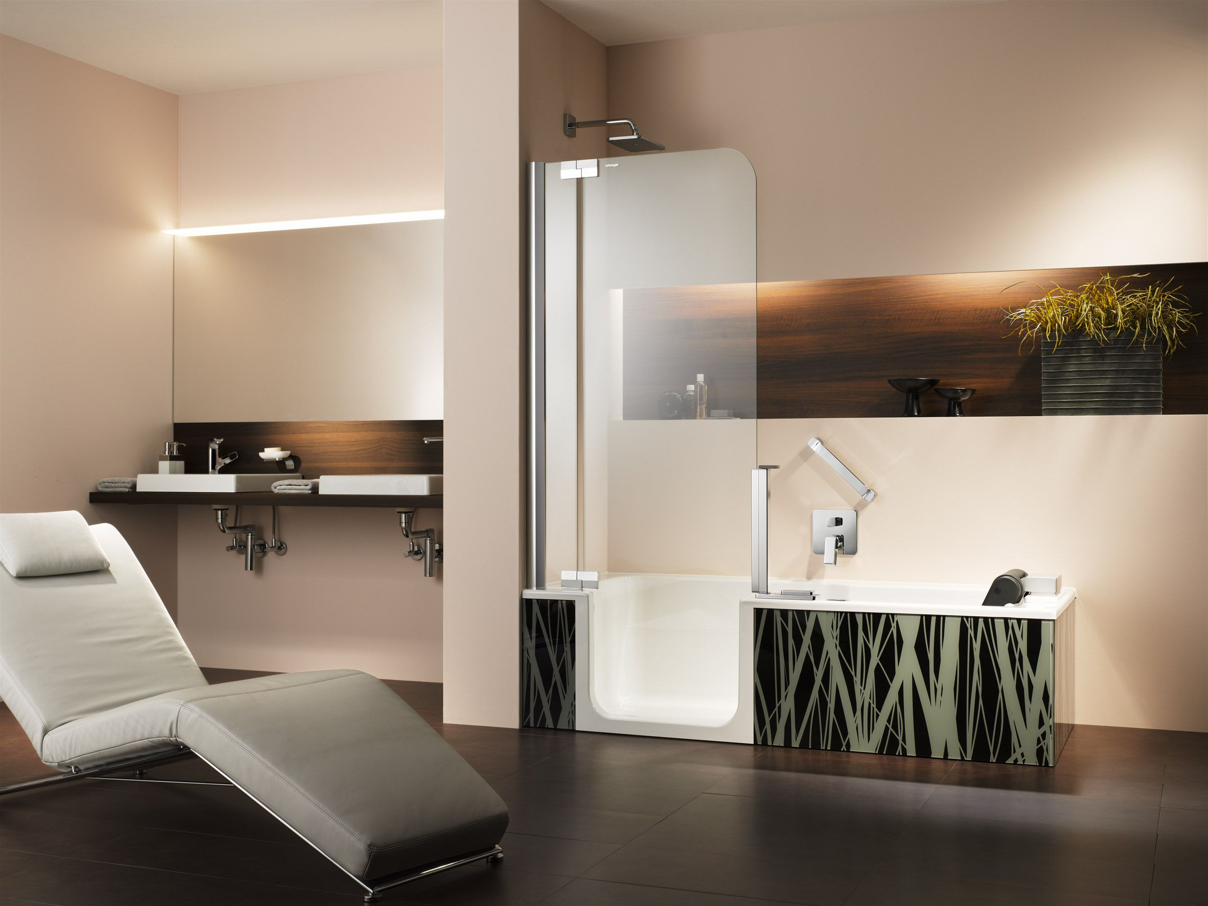 Badezimmer designs klein zuhause schöner leben mit komfort das moderne bad soll nicht nur
