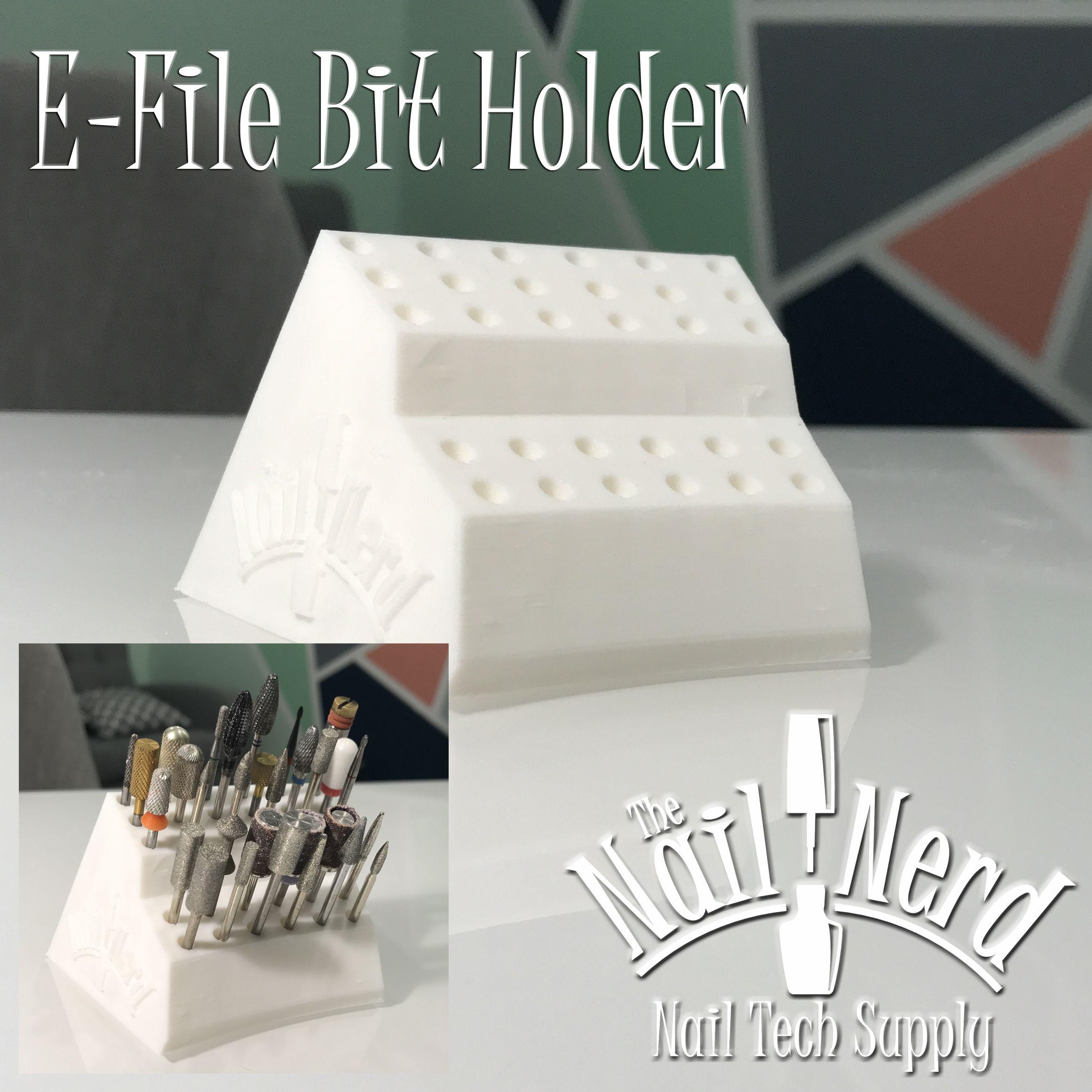 E-File Bit Organizer The Nail Nerd Salon and Nail Supply www ...