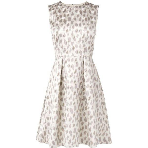 L.K. Bennett Asilah Embellished Silk Jacquard Dress Found