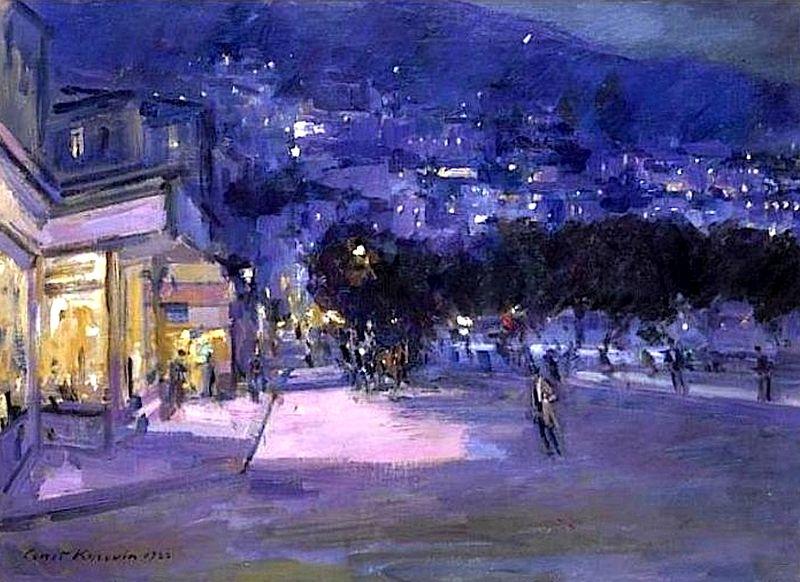 """Vue de Monte Carlo le Soir"", Konstantin Korovin"