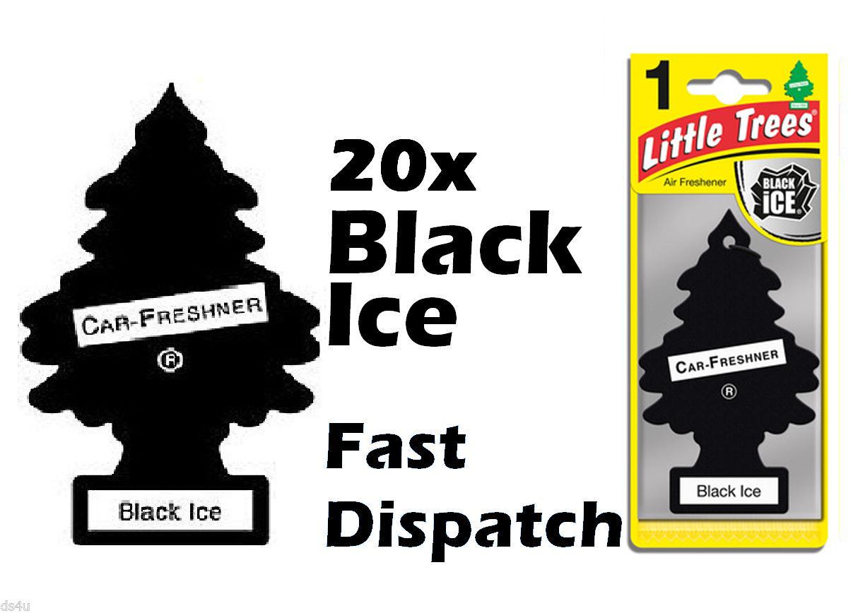 "MAGIC TREE ""LITTLE TREE"" BLACK ICE FRAGRANCE CAR AIR"