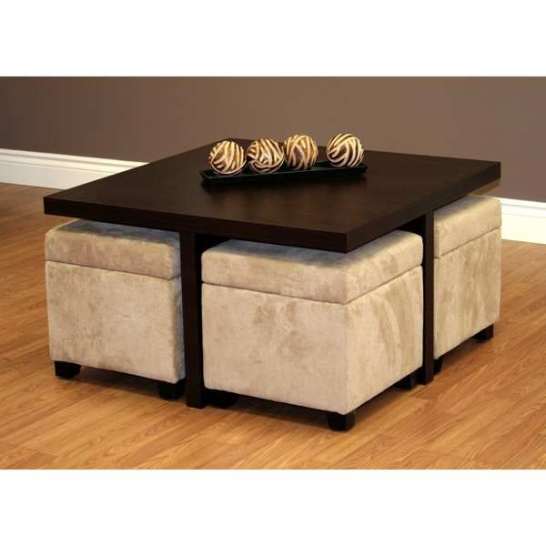 Ottoman Coffee Table Tables Canada Solid
