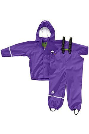 ccf677f45 Classic rain pants and coat sets from CeLaVi, perfect for outdoor  kindgarten programs or camps. Available in Red, Orange, Yellow, Green,  Turquoise, Purple, ...