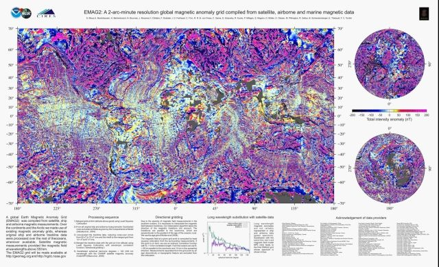Magnetic Anomaly Map Of The World.World Digital Magnetic Anomaly Map Geophysics Ancient Artifacts Map