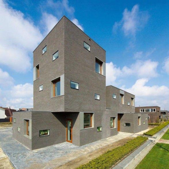 Contemporary Brick House Design And Plans By Architect Cino Zucchi - http://www.interiorzy.com/contemporary-brick-house-design-and-plans-by-architect-cino-zucchi.html