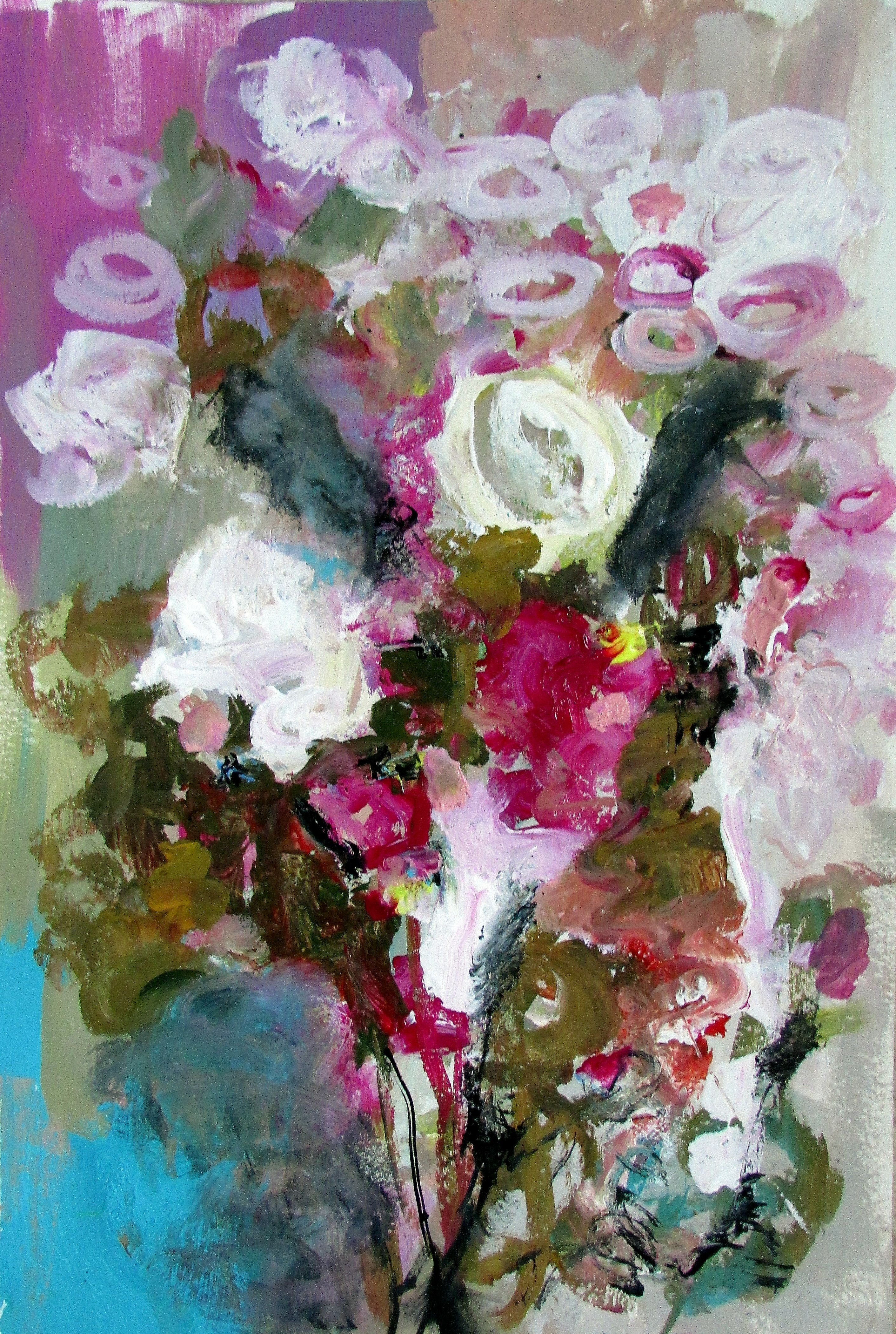 Just Some Flowers On Paper Wendy Mcwilliams Contemporary Artists I