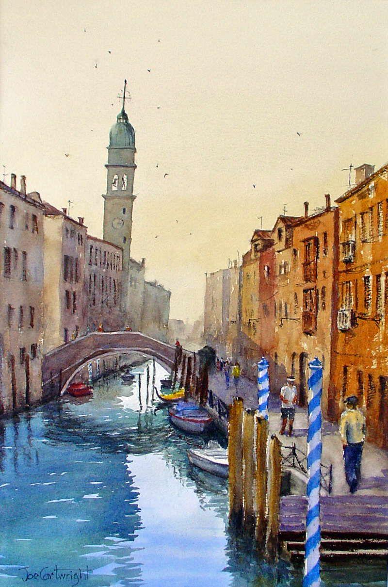 Venicesunset Jpg 418 310 Venise Peinture Aquarelle Aquarelle