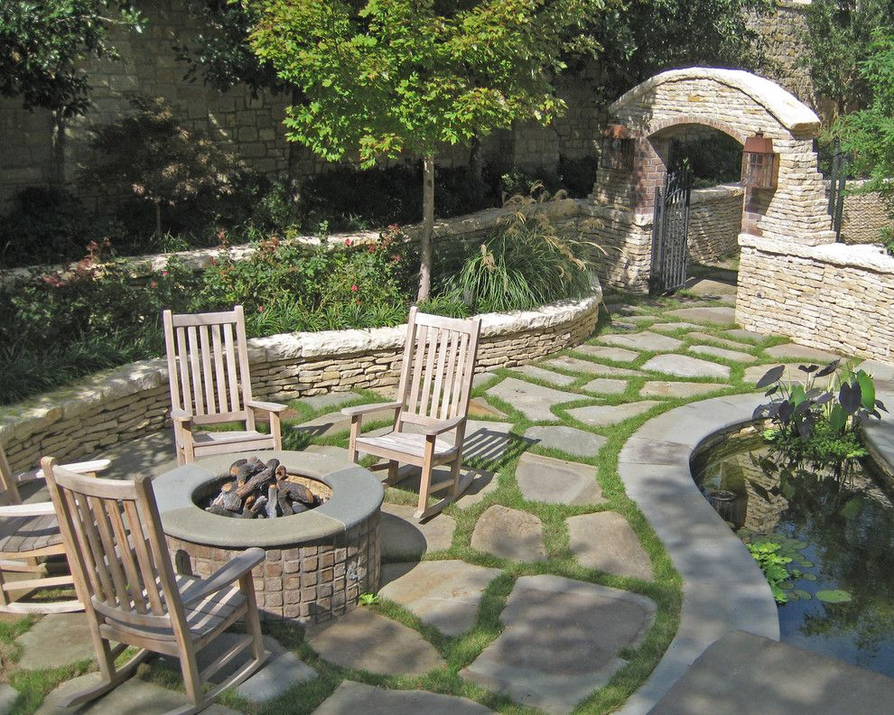 Only For The Flagstone Ground Cover Idea