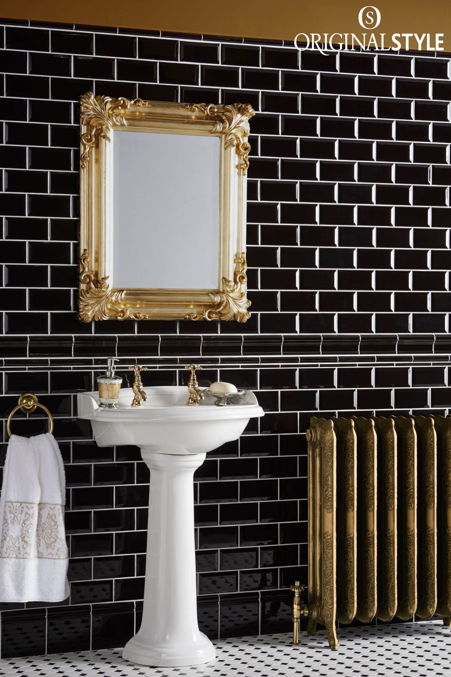 Windsor Blue Albert Moulding Tile Victorian Tiles Bathroom Black Tile Bathrooms Metro Tiles
