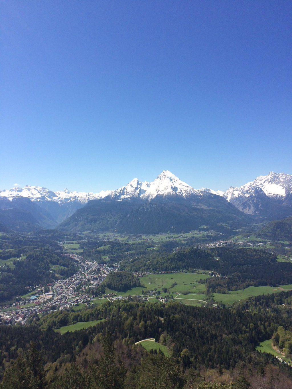 """Thalkirchnerin on Twitter: """"Bestes Bergwetter! Blick auf das Watzmannmassiv von der Kneifelspitze  https://t.co/7mdLW4WS7B"""""""