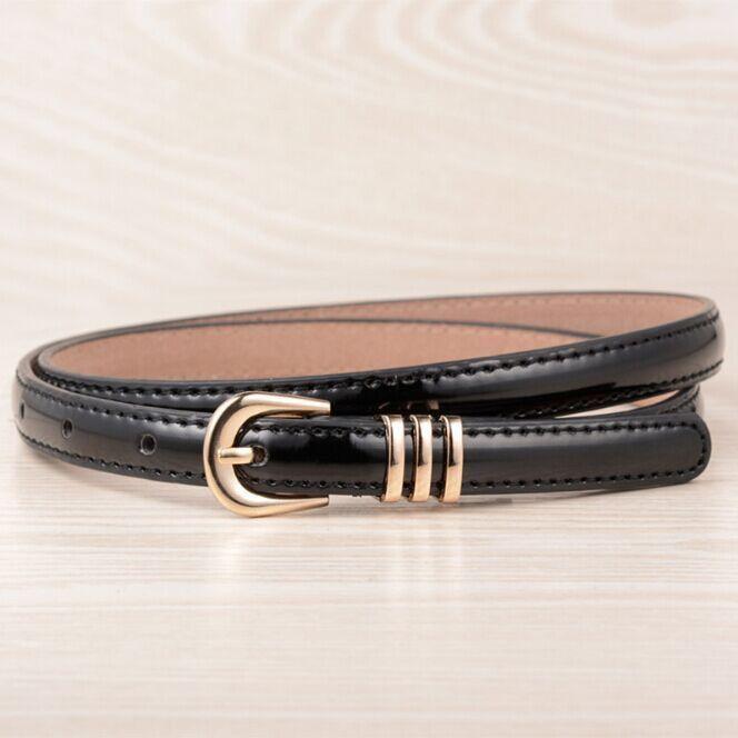 [KAITESICZI] 2017 new wild simple fashion women's thin belt decoration belt waist chain female high-quality brand belt
