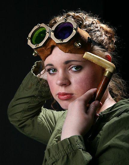 Steam Punk Girl by Robert Och