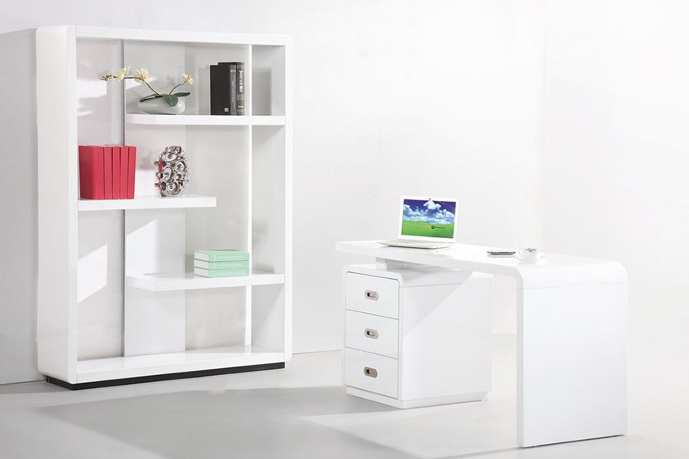 High Gloss Bookcase White Amazing Bookcases