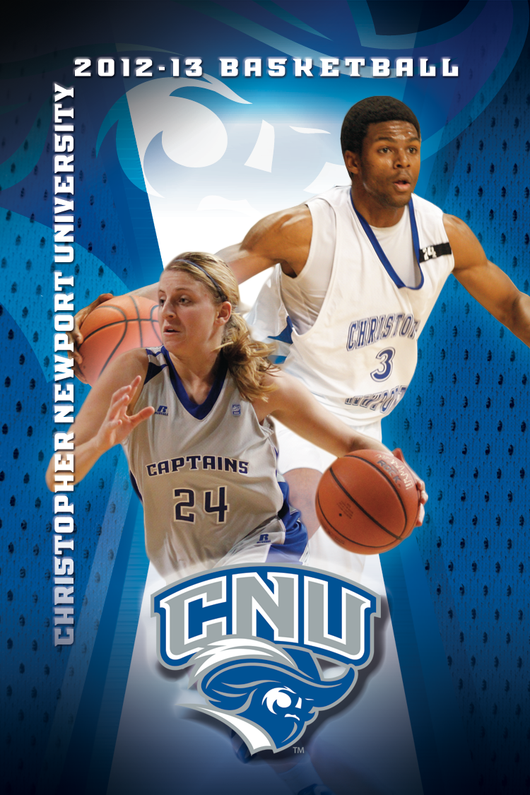 finest selection c00bf 7301d Christopher Newport University, Basketball Schedule card ...