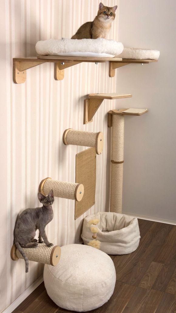 kletterwand kratzwand katzen cats pinterest. Black Bedroom Furniture Sets. Home Design Ideas