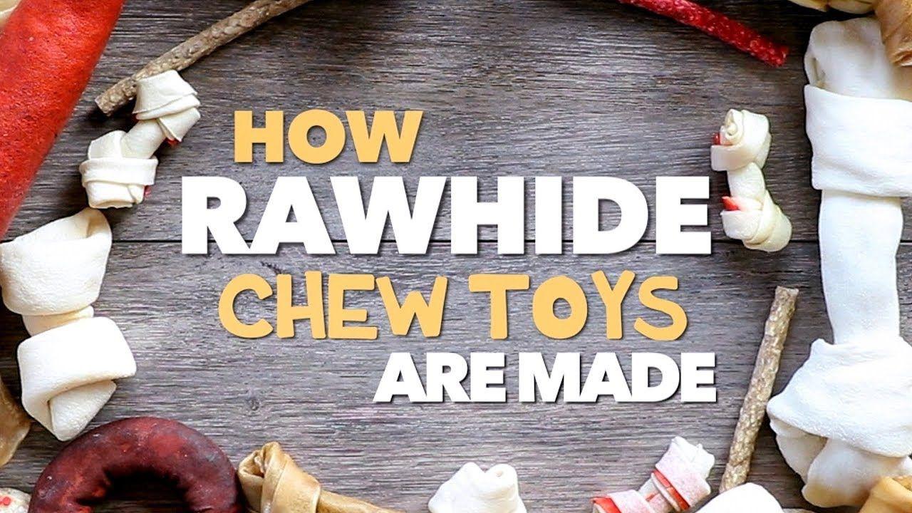 How to make Rawhide YouTube Rawhide chews, Raw dog