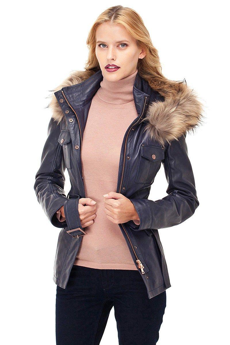 Derimod Bayan Deri Ceket Modelleri Moda Moda Stilleri Deri Ceket