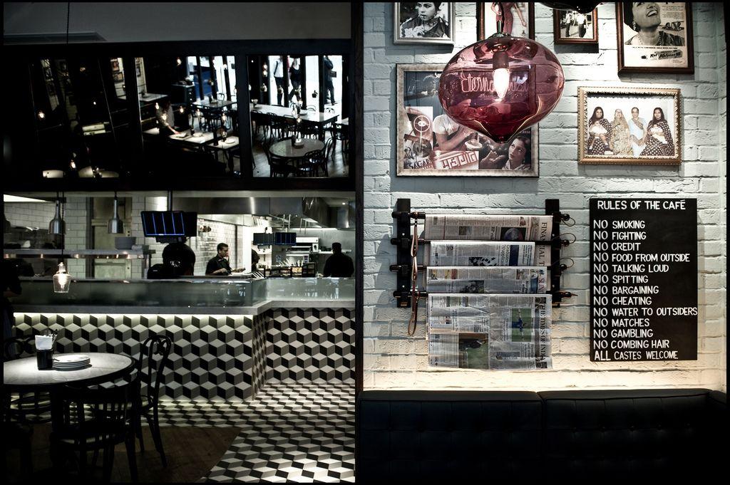 Mobile Gallery Dishoom Dishoom, Indian cafe, Cafe