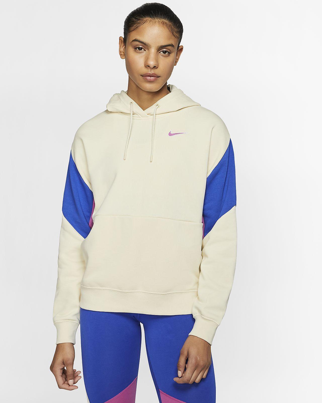 Nike Sportswear Women S French Terry Pullover Hoodie Nike Com Nike Sportbekleidung Kapuzenpullover [ 1600 x 1280 Pixel ]