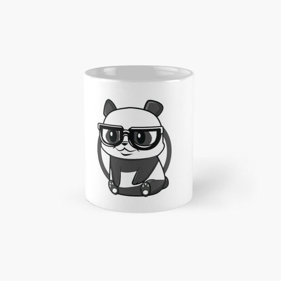 Baby Panda Bear Nerd Cool Black White Admirer Gift – Ceramic 11Oz Coffee Mug – Gift Idea For Family And Friends #babypandas