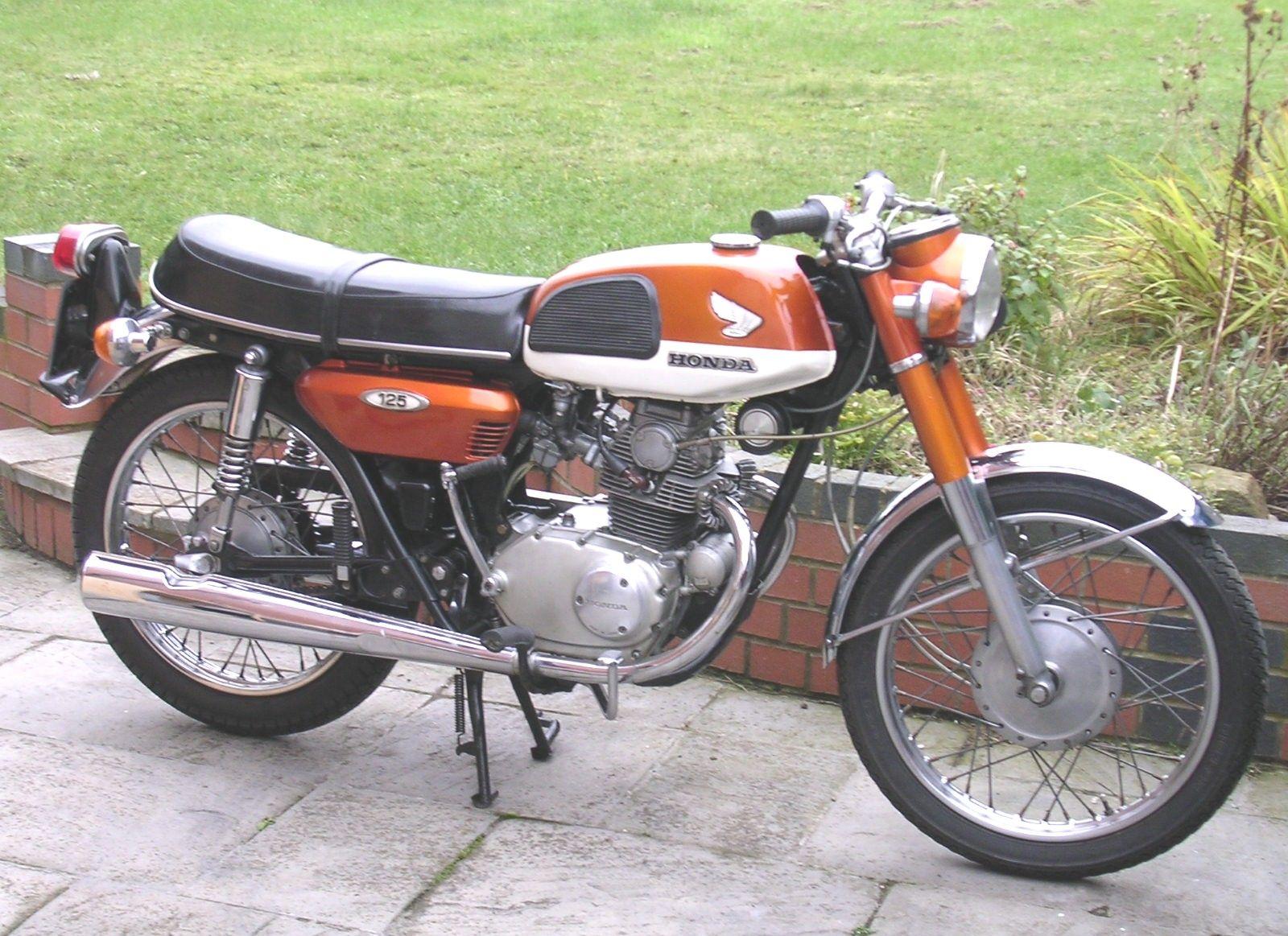 honda cb125 k4 1970 motorcycles honda cb125 honda honda 125. Black Bedroom Furniture Sets. Home Design Ideas