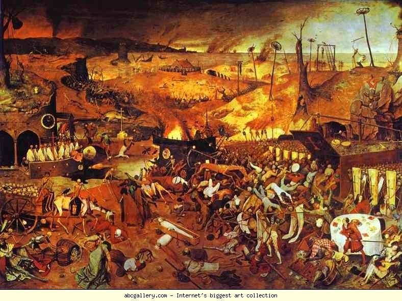 Pieter Bruegel the Elder. The Triumph of Death.