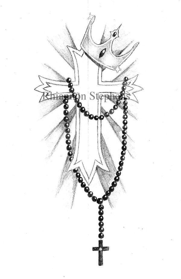 828ad7906716e rosary-tattoo-designs-for-women | Tats | Tattoo designs, Tattoo ...