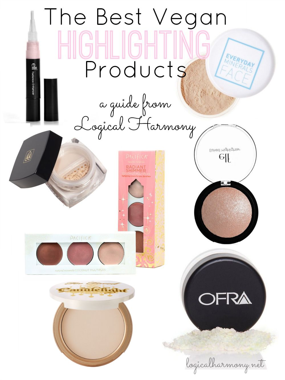 The Best Vegan Highlighting Products Cruelty free makeup