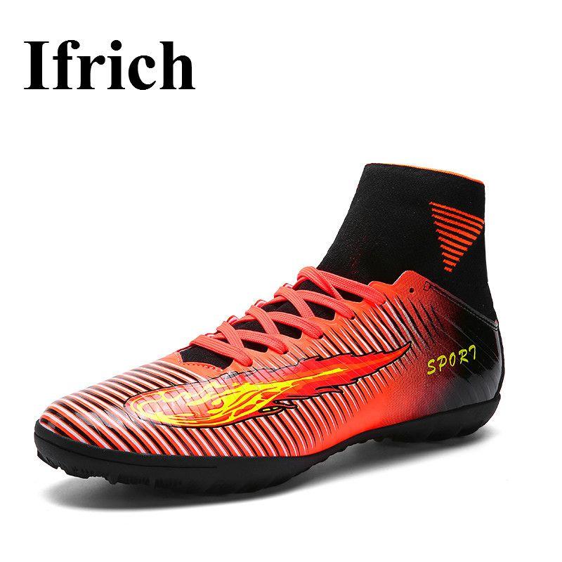 High Ankle Football Boots Men Kids