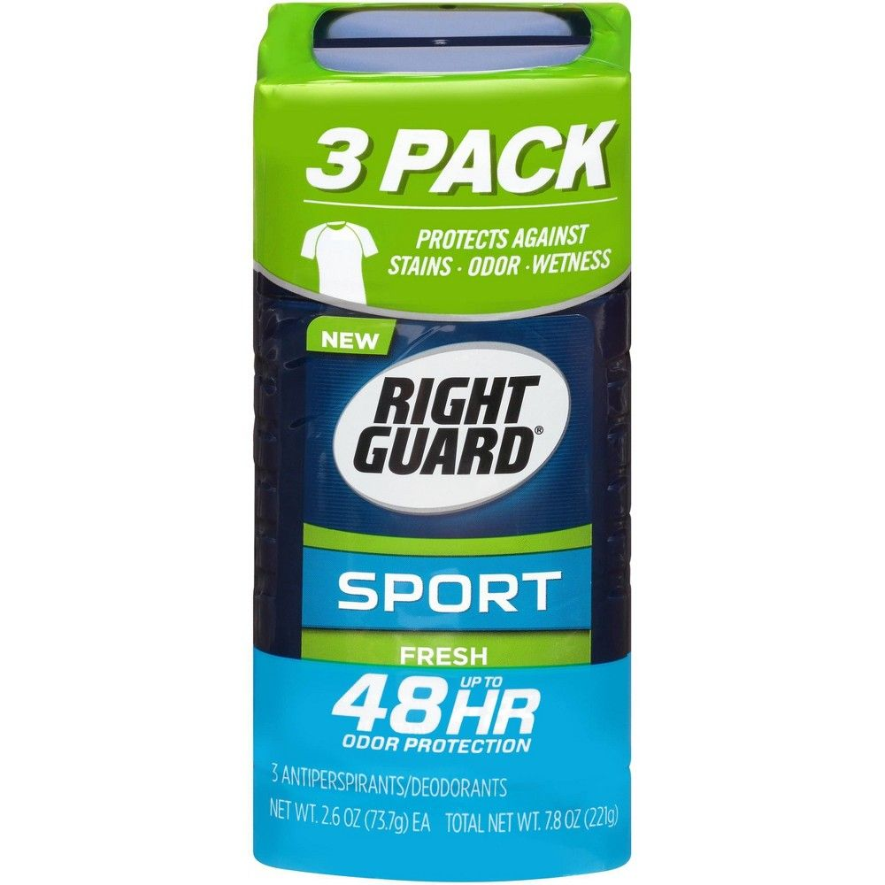 Right Guard Sport Antiperspirant Deodorant Fresh Invisible