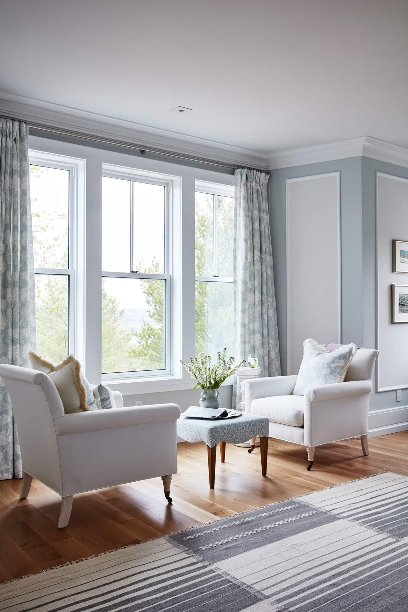 Seating area in the master bedroom by the window | A little bit of ...