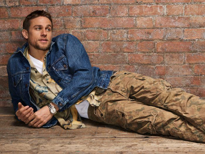 Charlie Hunnam for Mr. Porters The Journal Style Guide