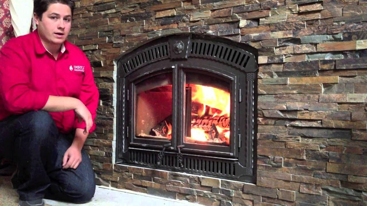 Nz3000 Napoleon Wood Burning Fireplace Zero Clearance Product Reivew Burn Video Wood Burning Fireplace Fireplace Wood Stove