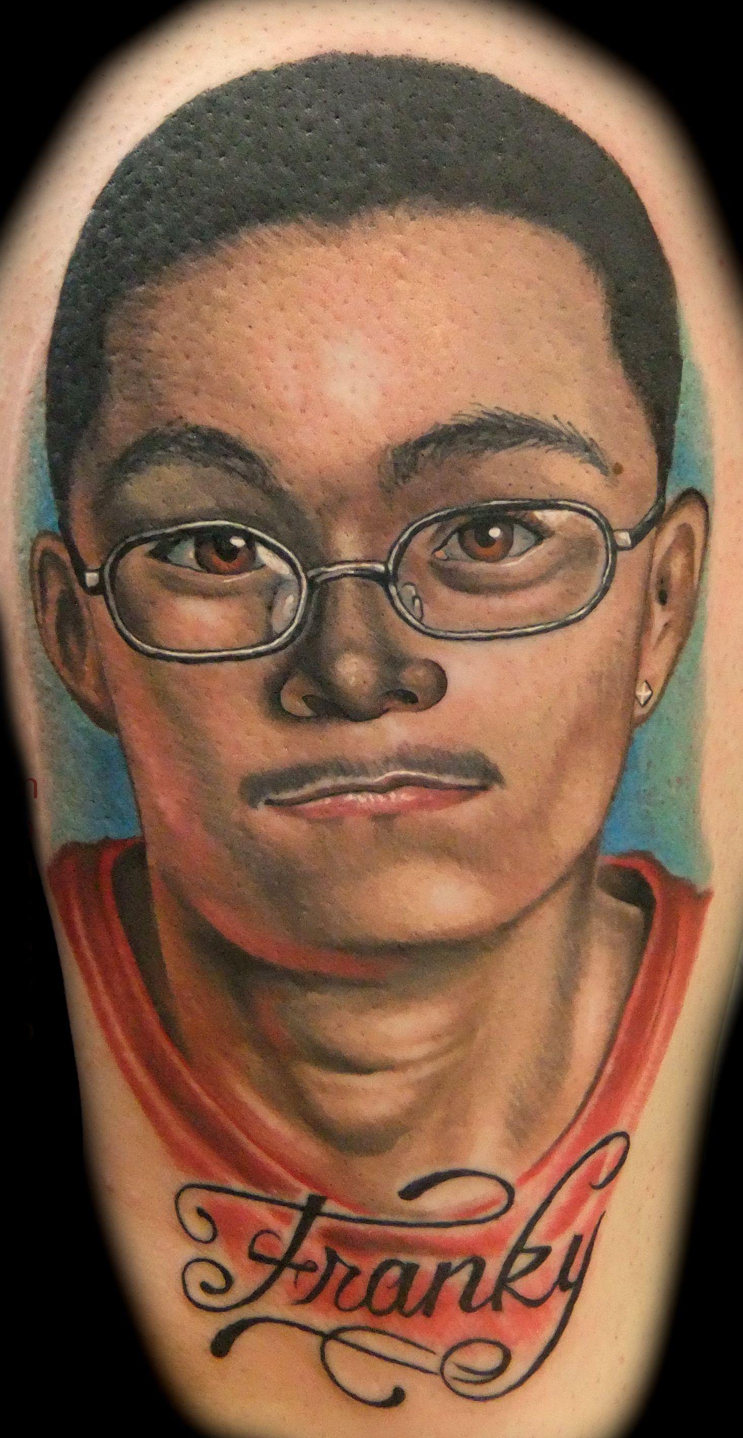 Portrait brother realistic tattoos chicago tattoos tattoos