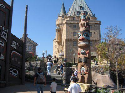 Walt Disney World Totem Poles