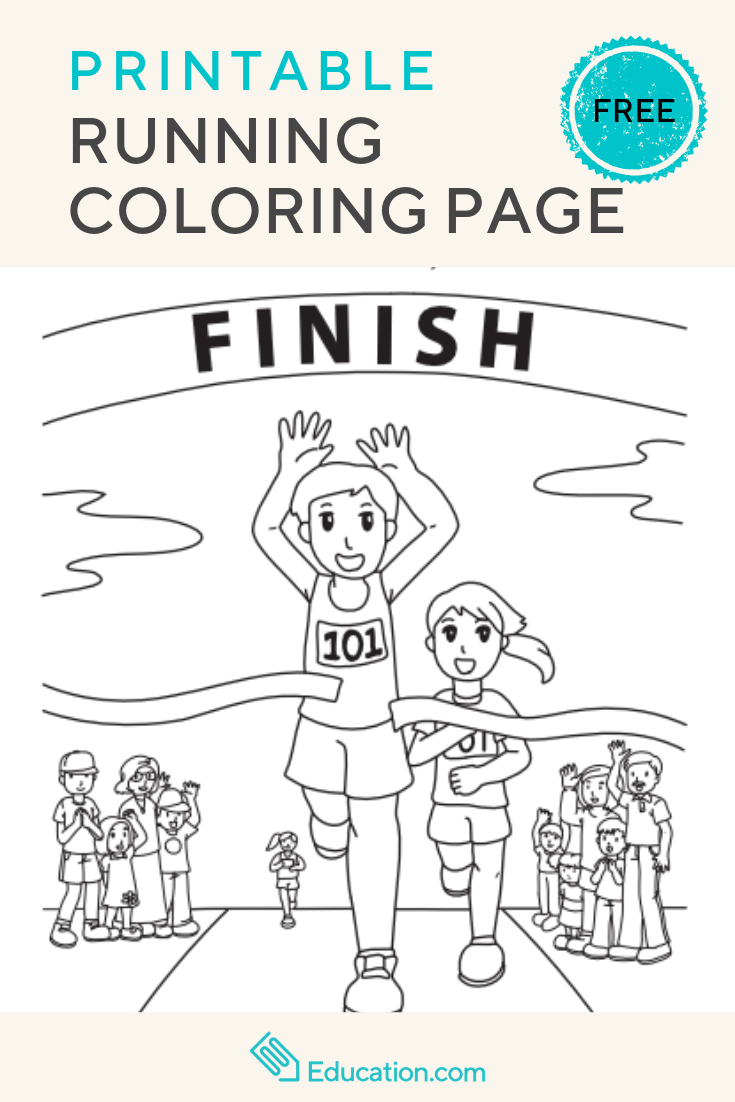 Running Worksheet Education Com Cool Coloring Pages Coloring Pages Coloring Pages For Kids