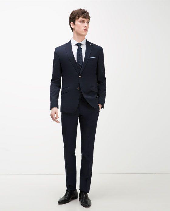 Zara Man Mode Homme Costume Mode