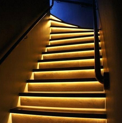 led light strip single color with wall dimmer 16 foot. Black Bedroom Furniture Sets. Home Design Ideas