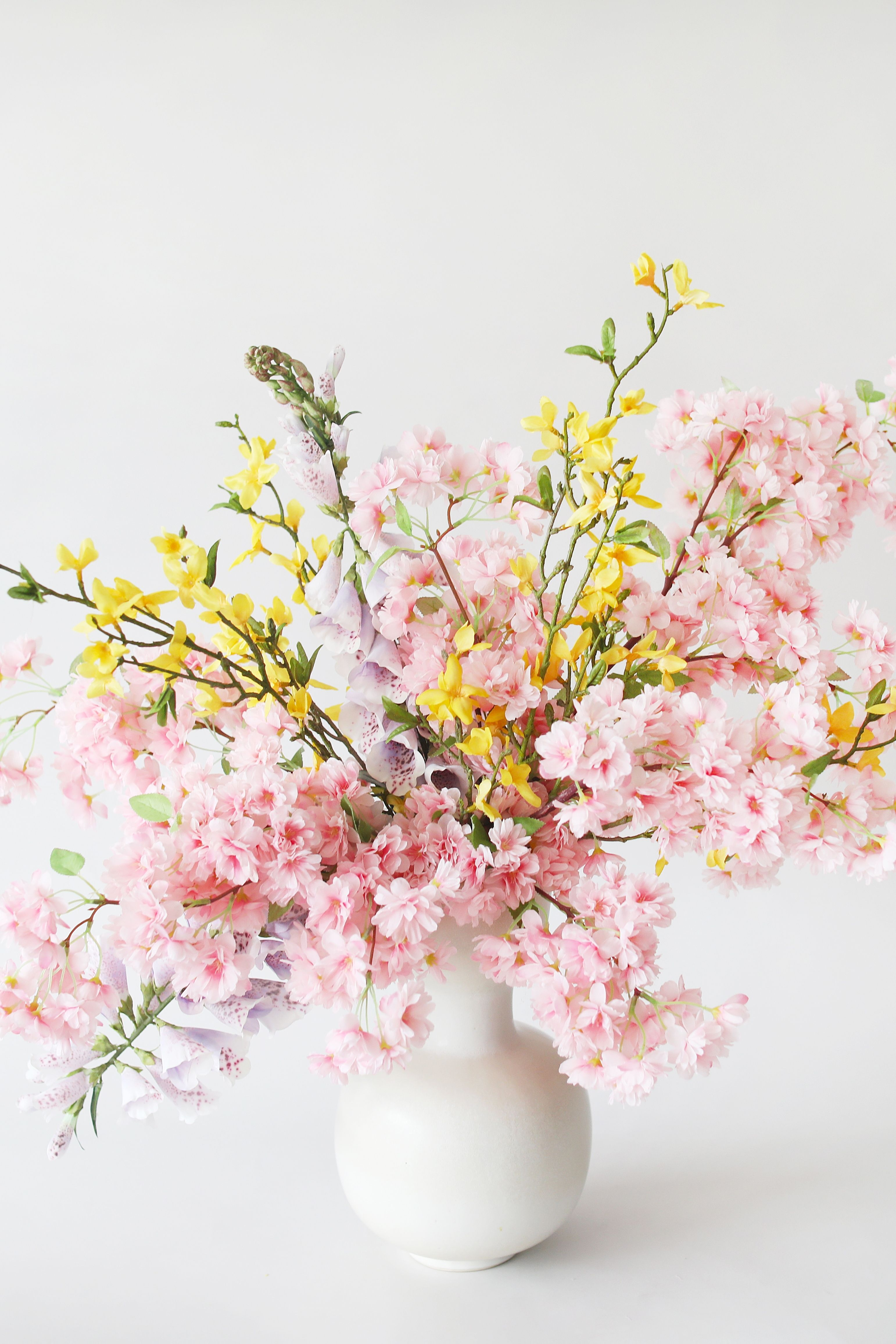 Get The Look for Spring Home Decor in 32   Fake flower ...