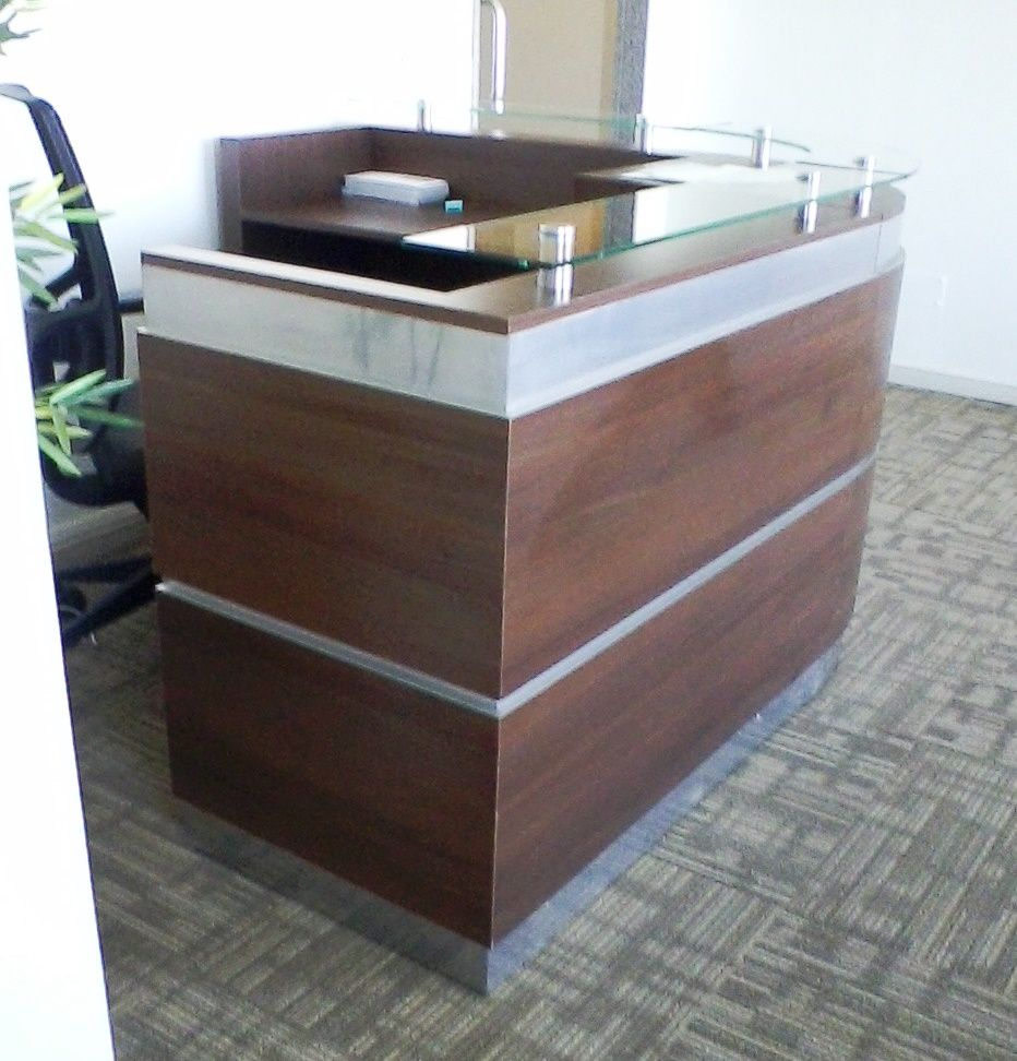 Muebles de recepci n muebles de recepci n moderna mueble for Diseno de muebles de oficina modernos