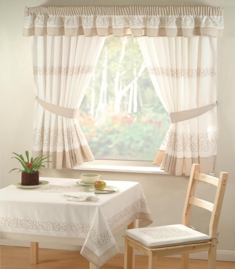 55 Rideaux De Cuisine Et S Pour Habiller Les Fenêtres Façon Clique Moderne Cafe Curtainsdining