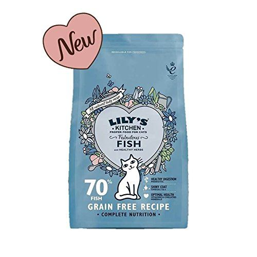 Lily S Kitchen Fabulous Fish Complete Dry Food For Cats 8 X 200g