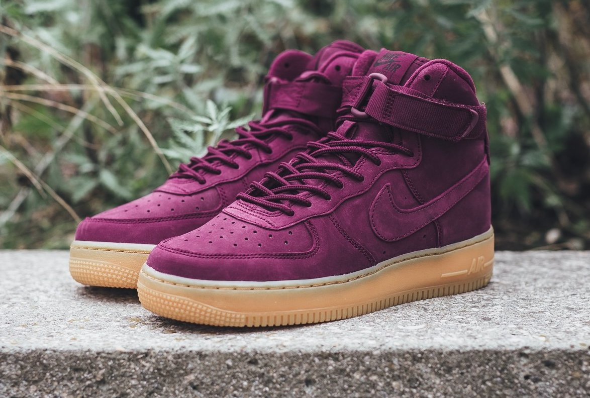 finest selection c9ade 1073a Do You Like The Nike Air Force 1 High Bordeaux