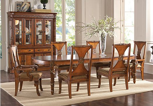 Champlain Pecan 5 Pc Dining Room 109999 Find Affordable Sets For Your